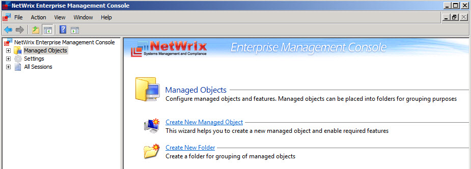Enterprise Management Console